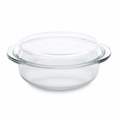 Форма для запікання з кришкою, скляна, 30х26,5 см, 3,0 л
