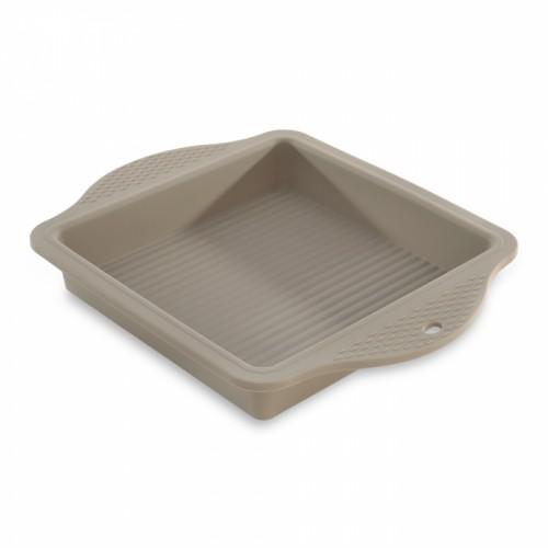Форма для випічки квадратна, силікон, 28,5 х 22,5 х 4 см