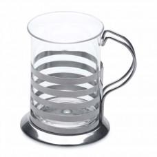 Набор из 2-х стеклянных стаканов чашек, 200 мл