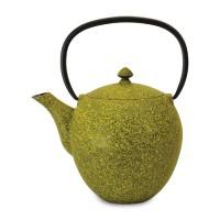 Чайник заварочный чугунный, лаймовый, 1,1 л