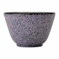 Набор чашек для чая чугунных, фиолетовые, 100 мл, 2 шт.