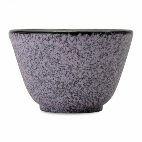 Набір чашок для чаю чавунних, фіолетові, 100 мл, 2 шт.