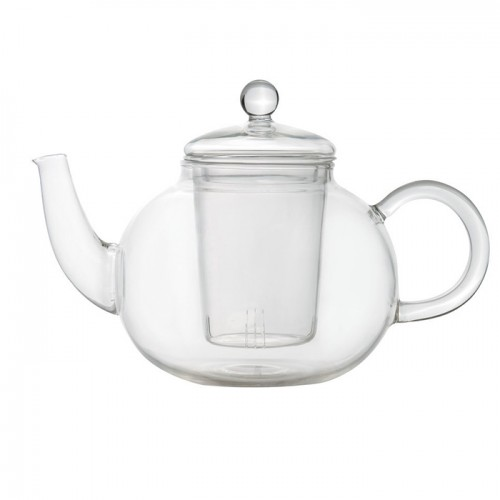 Чайник заварювальний, скляний, 0,9 л