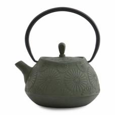Чайник заварочный, темно-зеленый, 1,1 л