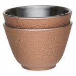 """Набір чашок для чаю, чавун, """"золотий"""", 100 мл, 2 шт."""