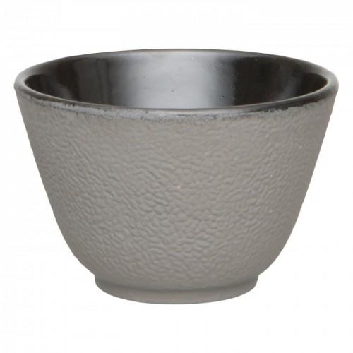 Набор чашек для чая, чугун, серый, 100 мл, 2 шт.