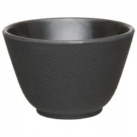 Набір чашок для чаю, чавун, чорний, 100 мл, 2 шт.