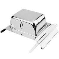 Масленка Combo с ножом, 19,3 х 12 см