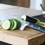 Набір ножів в колоді з обробною дошкою, 20пр.