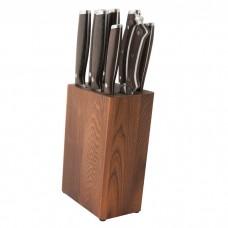 Набір ножів в колоді Redwood, 9 пр.
