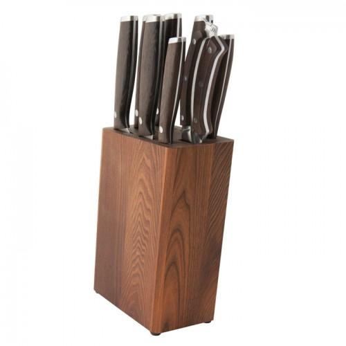 Набор ножей в колоде Redwood, 9 пр.