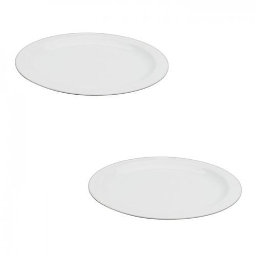Набор тарелок Hotel, фарфор, диам. 21,5 см (2 шт.)