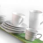 Чашка для кави Hotel, фарфорова, з блюдцем, 90 мл
