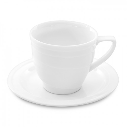 Чашка для кофе Hotel, фарфоровая, с блюдцем, 90 мл