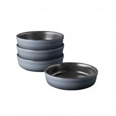 Набор форм керамических для выпечки GEM, круглые, диам. 12 см, 250 мл, 4 пр.