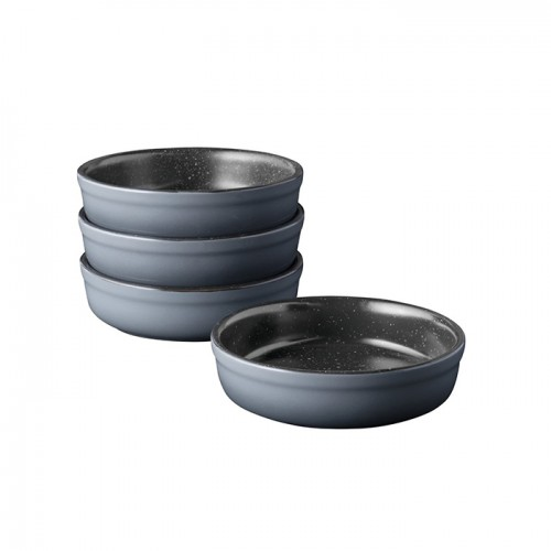 Набір форм керамічних для випікання GEM, круглі, діам. 12 см, 250 мл, 4 пр.