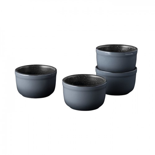 Набор форм керамических для выпечки GEM, круглые, диам. 8 см, 220 мл, 4 пр.