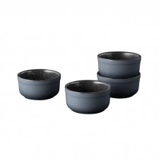 Набор форм керамических для выпечки GEM, круглые, диам. 8 см, 180 мл, 4 пр.