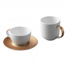 Набор для чая и кофе GEM, белый