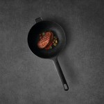 Сковорода з антипригарним покриттям GEM, 24 см, 2,9 л