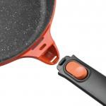 Сковорода-гриль з антиприг. покриттям STAY COOL, червона, 24 х 24 см, 2,3 л