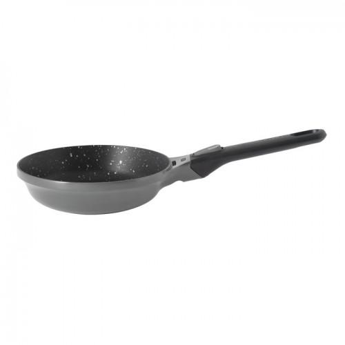 Сковорода з антипригарним покриттям GEM, сіра, діам. 24 см, 1,7 л