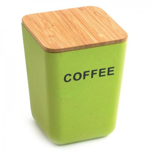 Банка для зберігання кави з кришкою