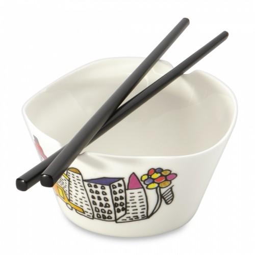 Мисочка для рису з паличками Eclipse, 0,30 л (2 шт.)