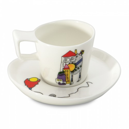 Чашка для эспрессо Eclipse с блюдцем, 80 мл, 2 шт.