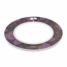 Тарелка Lover by Lover, фиолетовая, диам. 21,5 см, 4 шт.