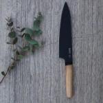 Ніж кухарський з дерев'яною ручкою RON, з покриттям, 19 см
