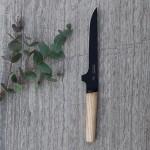 Нож разделочный с деревянной ручкой RON, с покрытием, 15 см