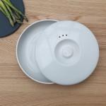 Миска з кришкою керамічна, діам. 24 см