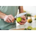 Нож для чистки овощей и цедры LEO, с покрытием, 11 см
