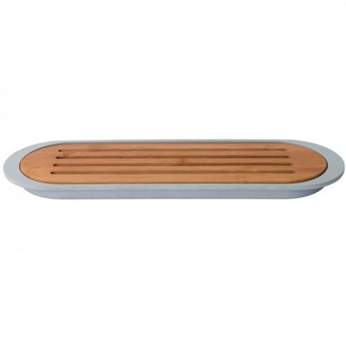 Доска для нарезки хлеба LEO, с поддоном, 37 х 11 х 2 см