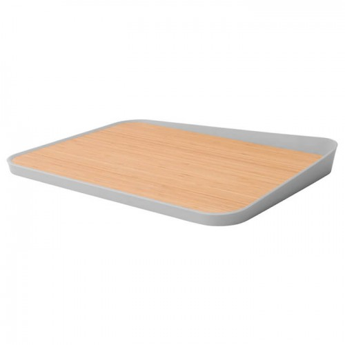 Доска кухонная LEO с угловым бортиком, 41 х 30,5 х 4 см