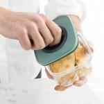 Контейнер для еды со смарт-системой хранения LEO, 1,6 л, 11,5 х 11,5 х 22,5 см
