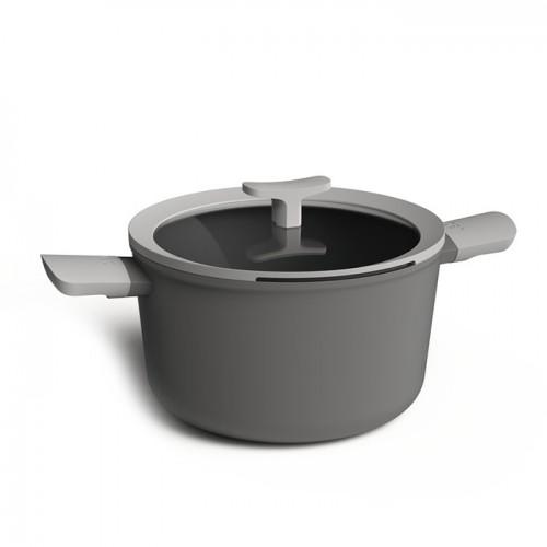 Кастрюля с антипригарным покрытием LEO, диам. 24 см, 5,5 л