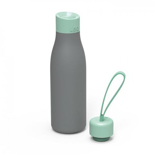 Термос-пляшка з двома кришками LEO, 0,5 л