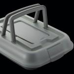 Форма для выпечки с инстр-м для нарезания GEM, с крышкой, прямоугольная, 38,5 х 29 х 8,5 см