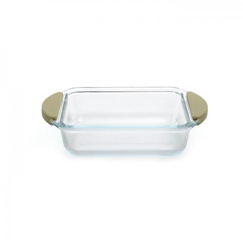 Форма для випікання скляна, квадратна, 15 х 21,5 х 5,5 см