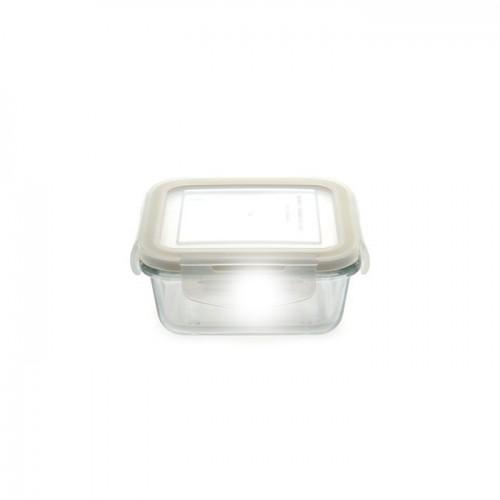 Контейнер для еды, стеклянный, 330 мл
