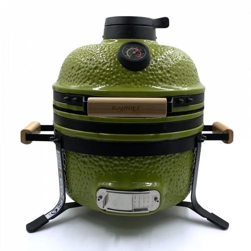 Середній керамічний гриль-піч, зелений